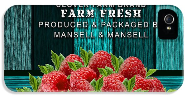 Raspberry Farm IPhone 5 / 5s Case by Marvin Blaine