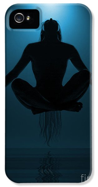Water iPhone 5 Cases - Reaching Nirvana.. iPhone 5 Case by Nina Stavlund