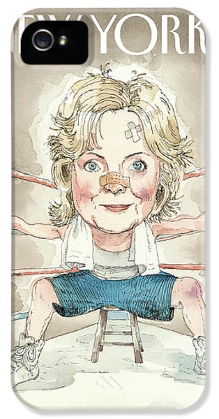 Ready For A Fight IPhone 5 / 5s Case by Barry Blitt