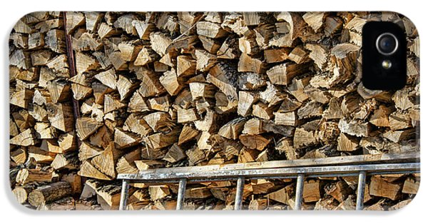 Firewood iPhone 5 Cases - Ready for Winter #1 iPhone 5 Case by Nikolyn McDonald