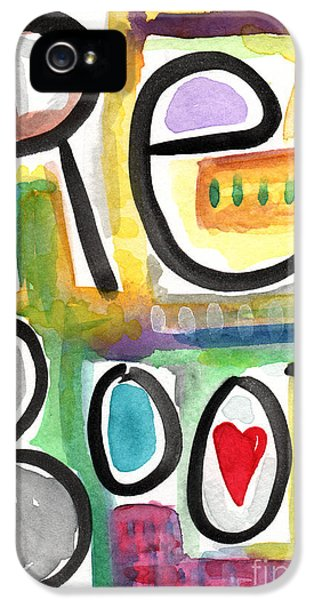 Office Art iPhone 5 Cases - Reboot iPhone 5 Case by Linda Woods