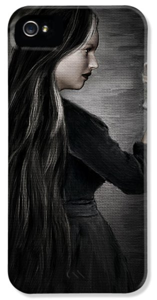 Grim Reaper iPhone 5 Cases - Recognition Of Death iPhone 5 Case by Lourry Legarde