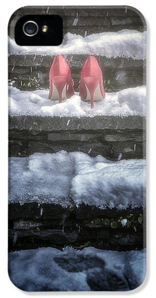 Thriller iPhone 5 Cases - Red High Heels iPhone 5 Case by Joana Kruse