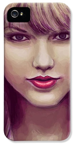 Red IPhone 5 / 5s Case by Kendra Tharaldsen-Franklin