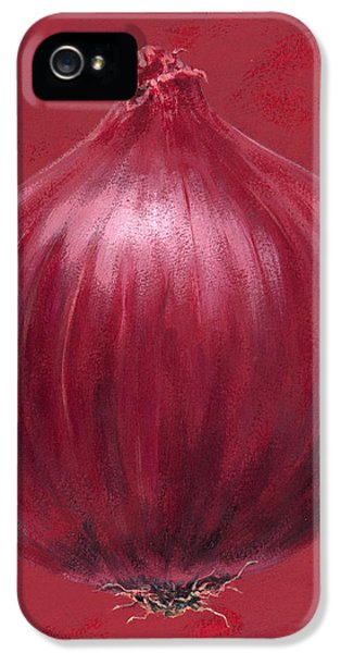 Red Onion IPhone 5 / 5s Case by Brian James