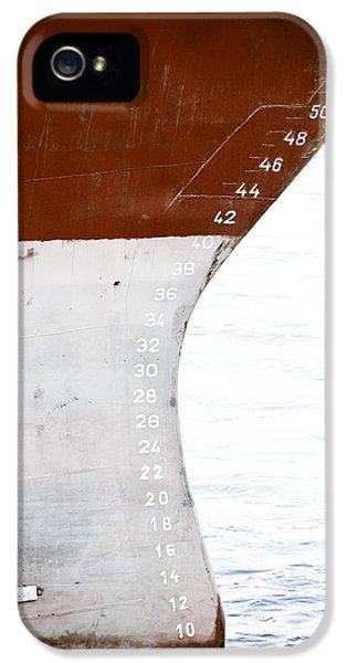 Artsy iPhone 5 Cases - Red Ship iPhone 5 Case by Frank Tschakert
