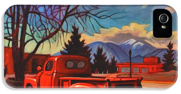 Red Truck IPhone 5 / 5s Case by Art James West
