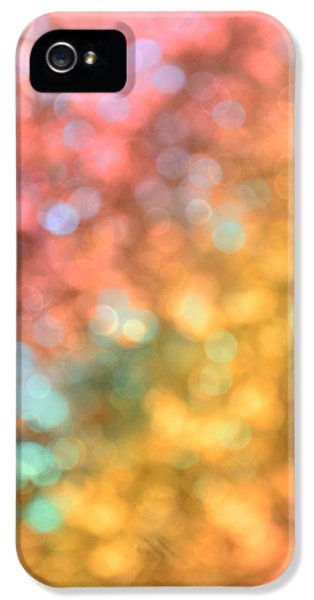 Burnt Umber iPhone 5 Cases - Reflections - Abstract  iPhone 5 Case by Marianna Mills