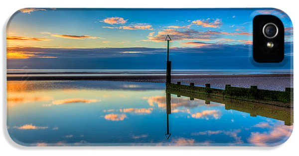 Sea iPhone 5 Cases - Reflections iPhone 5 Case by Adrian Evans
