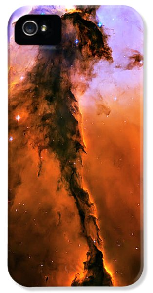 Astronomy iPhone 5 Cases - Release - Eagle Nebula 1 iPhone 5 Case by The  Vault - Jennifer Rondinelli Reilly