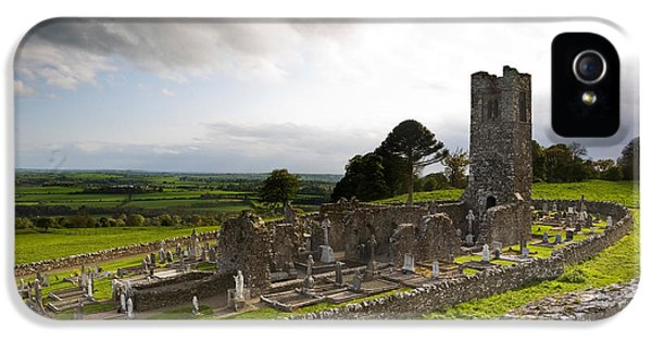 Perception iPhone 5 Cases - Remains Of The Church On St Patricks iPhone 5 Case by Panoramic Images