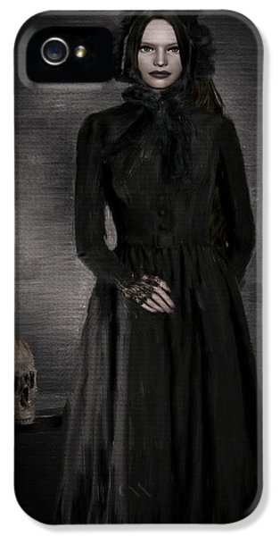 Grim Reaper iPhone 5 Cases - Remember Your Mortality iPhone 5 Case by Lourry Legarde