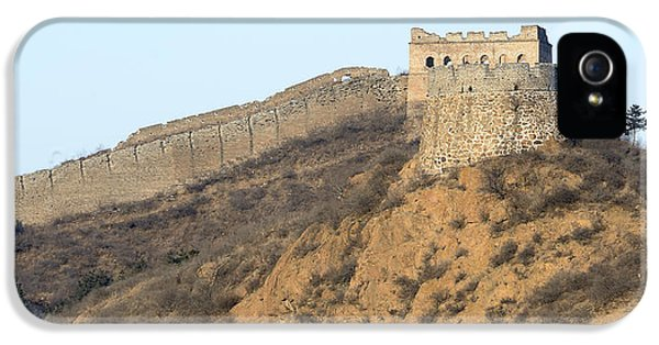Nl iPhone 5 Cases - Remote section of the Great Wall of China iPhone 5 Case by Brendan Reals