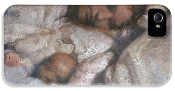 Protection iPhone 5 Cases - Rest iPhone 5 Case by Odd Nerdrum