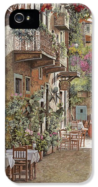 Street Scene iPhone 5 Cases - Rethimnon-Crete-Greece iPhone 5 Case by Guido Borelli