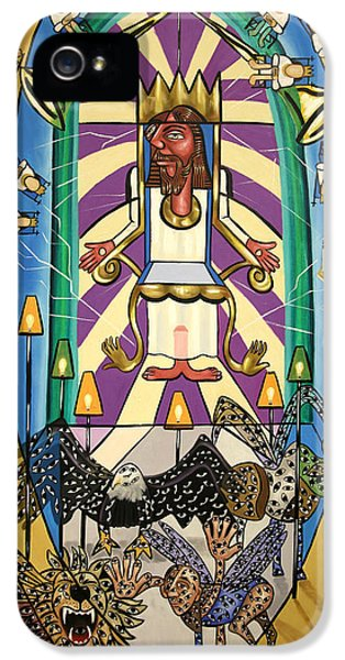 Revelation Chapter 4 IPhone 5 / 5s Case by Anthony Falbo