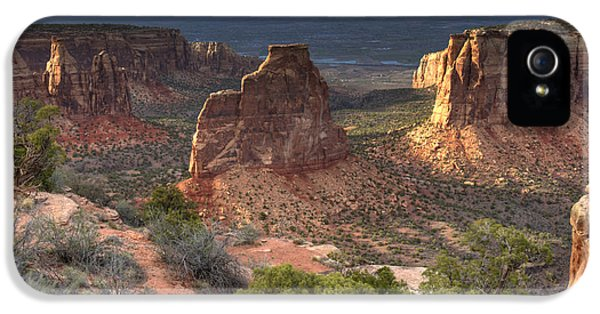 National Monuments iPhone 5 Cases - Rich Landscape iPhone 5 Case by Marco Crupi
