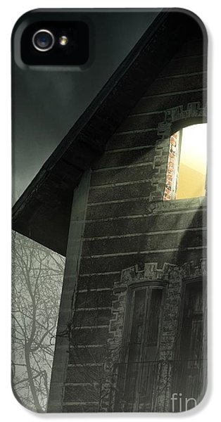 Haunted Houses iPhone 5 Cases - Rising Fog iPhone 5 Case by Carlos Caetano