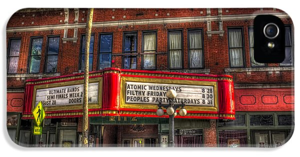 Aves iPhone 5 Cases - Ritz Ybor theater iPhone 5 Case by Marvin Spates