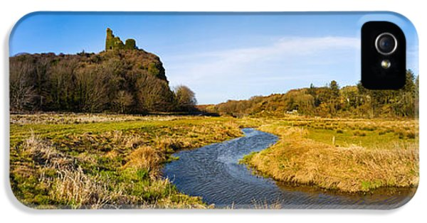 Social History iPhone 5 Cases - River Flowing Through Landscape iPhone 5 Case by Panoramic Images