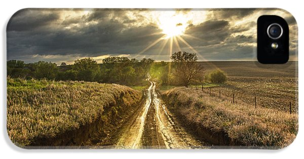Road iPhone 5 Cases - Road to Nowhere iPhone 5 Case by Aaron J Groen