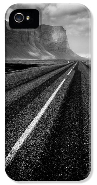 Desolate iPhone 5 Cases - Road to Nowhere iPhone 5 Case by Dave Bowman