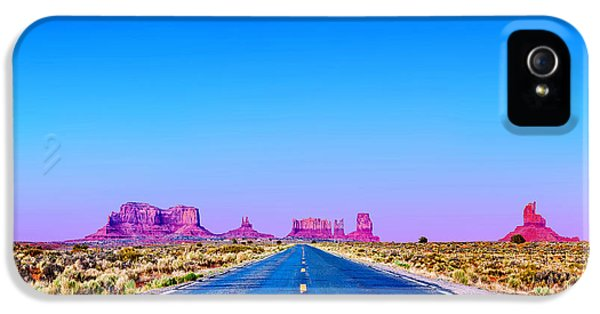 Monument iPhone 5 Cases - Road To Ruin 2 iPhone 5 Case by Az Jackson