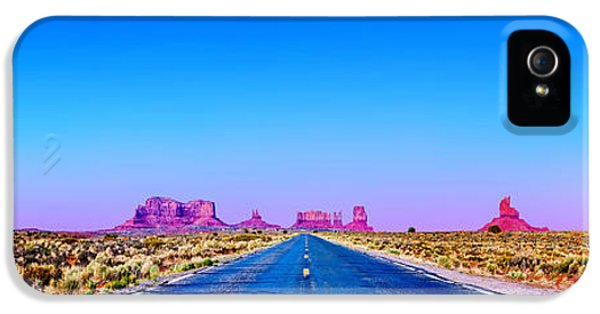 Monument iPhone 5 Cases - Long Road To Ruin iPhone 5 Case by Az Jackson