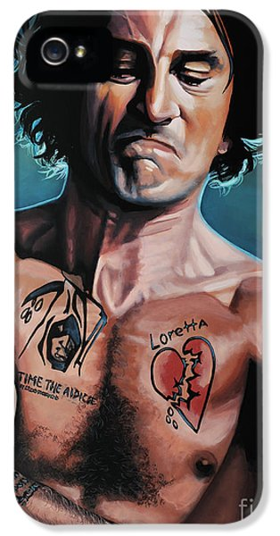 Taxi iPhone 5 Cases - Robert de Niro in Cape Fear iPhone 5 Case by Paul Meijering