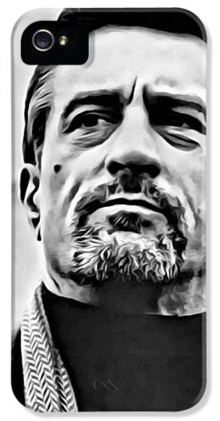 Robert De Niro Portrait IPhone 5 / 5s Case by Florian Rodarte