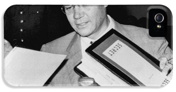 Robert Mcnamara Testifies IPhone 5 / 5s Case by Underwood Archives