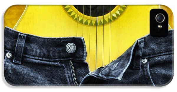 Jeans iPhone 5 Cases - Rock and Roll Woman iPhone 5 Case by Bill Cannon