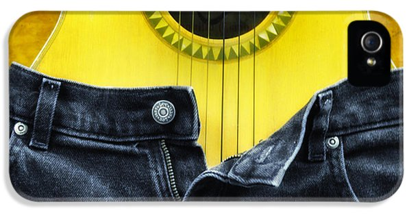 Acoustic iPhone 5 Cases - Rock and Roll Woman iPhone 5 Case by Bill Cannon