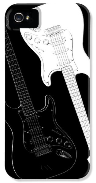 Rock And Roll Yin Yang IPhone 5 / 5s Case by Mike McGlothlen