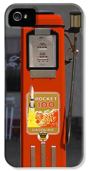 Rockets iPhone 5 Cases - Rocket 100 Gasoline - Tokheim Gas Pump iPhone 5 Case by Mike McGlothlen