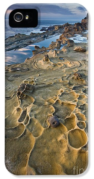Shore Acres iPhone 5 Cases - Rocky Shore iPhone 5 Case by Sean Bagshaw