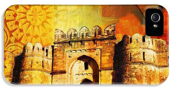 Pakistan iPhone 5 Cases - Rohtas Fort 00 iPhone 5 Case by Catf