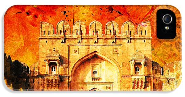 Pakistan iPhone 5 Cases - Rohtas Fort 01 iPhone 5 Case by Catf