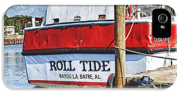Micdesigns iPhone 5 Cases - Roll Tide Stern iPhone 5 Case by Michael Thomas