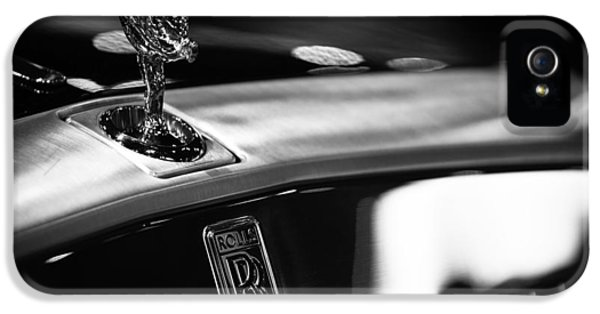 Chrome iPhone 5 Cases - Rolls Royce iPhone 5 Case by Sebastian Musial