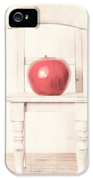 Chair iPhone 5 Cases - Romantic Apple Still Life iPhone 5 Case by Edward Fielding