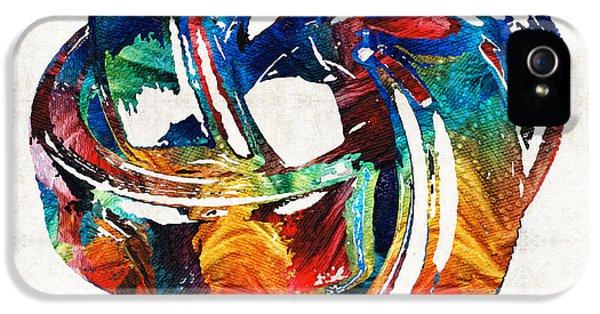 Wife iPhone 5 Cases - Romantic Love Art - The Love Knot - By Sharon Cummings iPhone 5 Case by Sharon Cummings