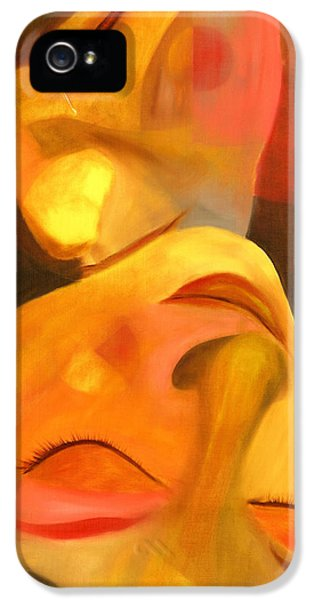 Colourful iPhone 5 Cases - Romeo and Juliet iPhone 5 Case by Hakon Soreide