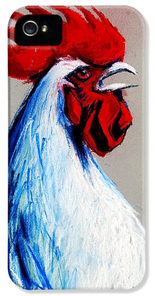 Rooster Head IPhone 5 / 5s Case by Mona Edulesco