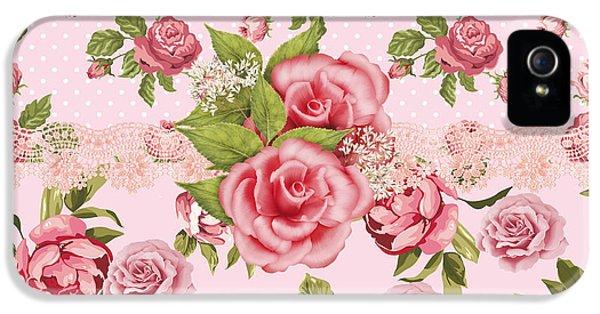 Rose Elegance IPhone 5 / 5s Case by Debra  Miller