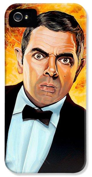Rowan Atkinson Alias Johnny English IPhone 5 / 5s Case by Paul Meijering