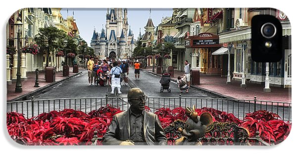 Casey iPhone 5 Cases - Roy and Minnie Mouse Walt Disney World iPhone 5 Case by Thomas Woolworth