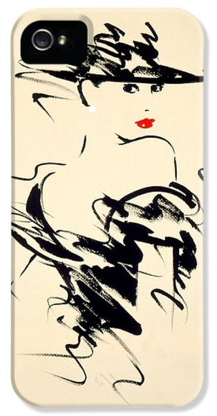 Glamorous iPhone 5 Cases - Ruby iPhone 5 Case by Giannelli