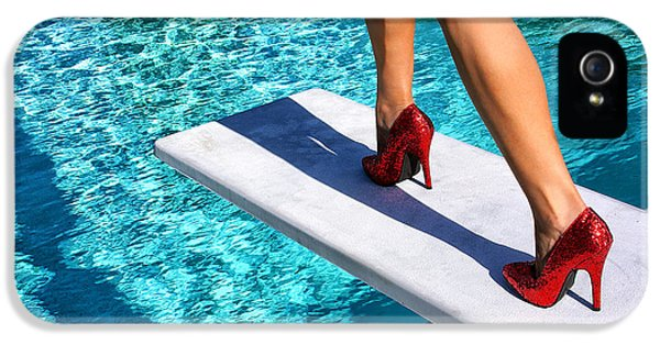 Ruby Heels Ready For Take-off Palm Springs IPhone 5 / 5s Case by William Dey