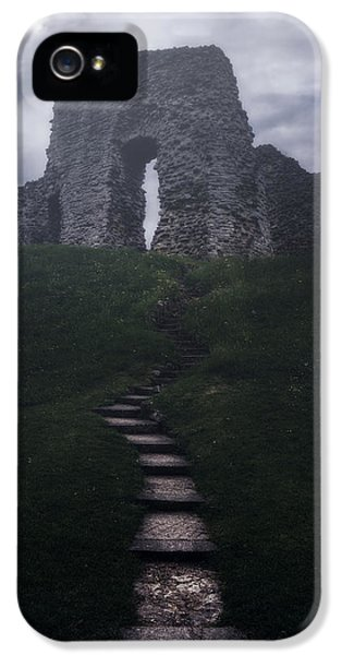 Ruins iPhone 5 Cases - Ruin Of Castle iPhone 5 Case by Joana Kruse